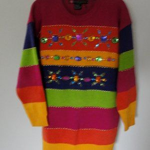 IB Diffusion Multi Colored Sweater size M